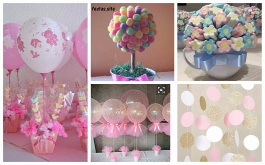 ideias simples festa menina