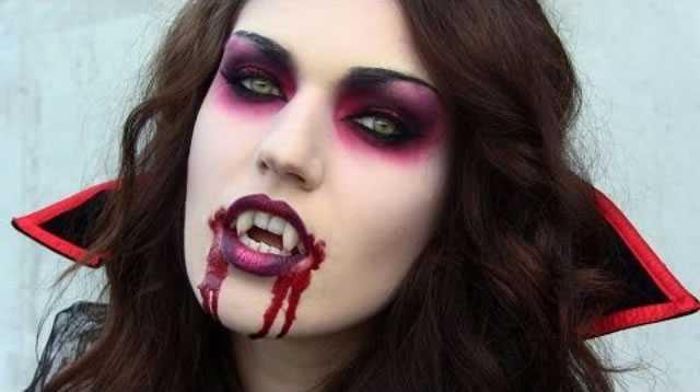 Fantasia de Vampiro feminina assustadora