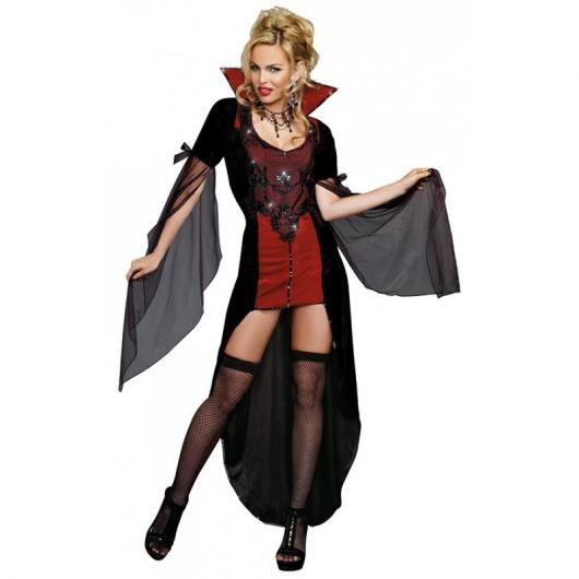 Fantasia de Vampiro feminina sexy