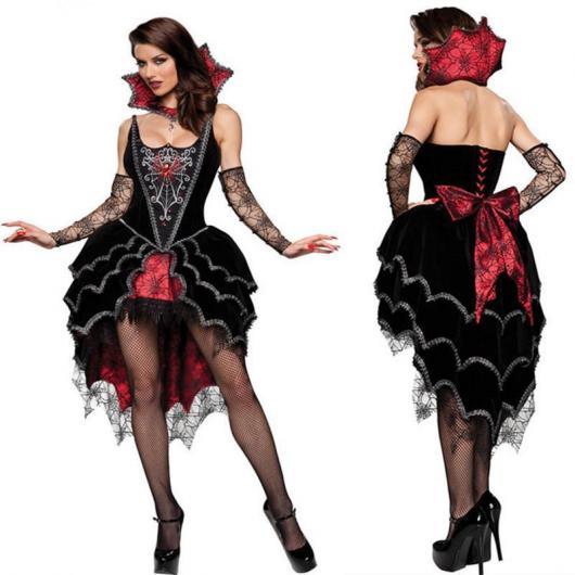 Fantasia de Vampiro feminina de luxo