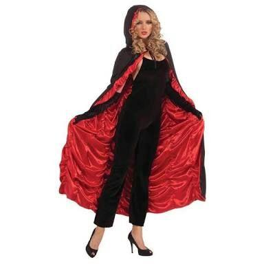 Fantasia de Vampiro improvisada com calça