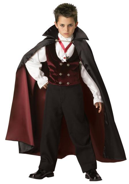 Fantasia de Vampiro infantil masculina