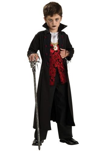 Fantasia de Vampiro infantil para menino com capa