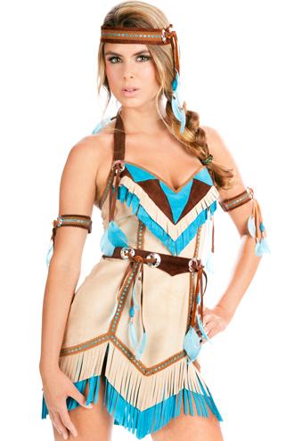 Dica de fantasia Pocahontas