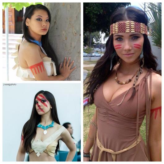 make de Pocahontas linda