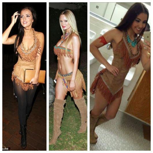 fantasia sexy de Pocahontas