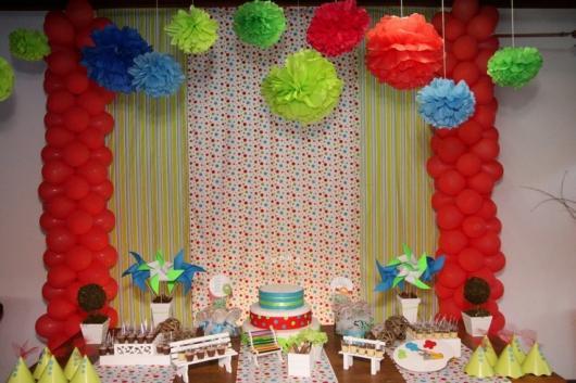 dicas para decorar festa à fantasia infantil