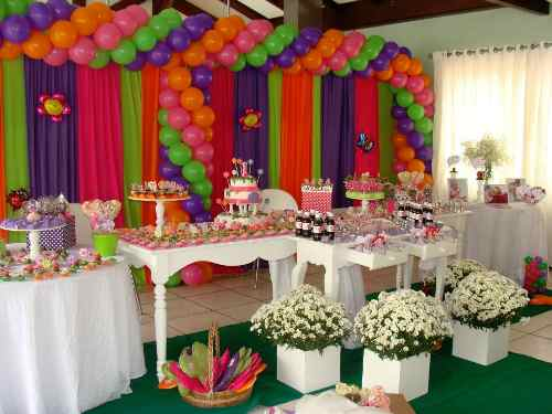 decoração festa à fantasia infantil