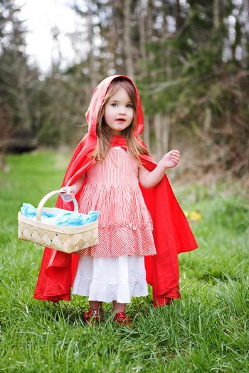 festa à fantasia infantil da chapeuzinho vermelho