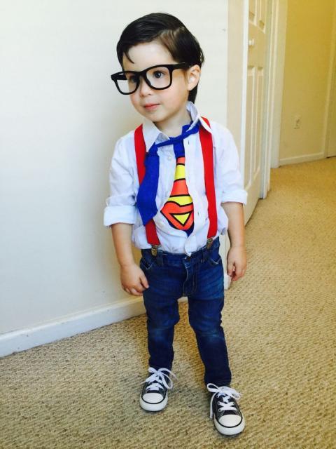 super homem para festa à fantasia infantil