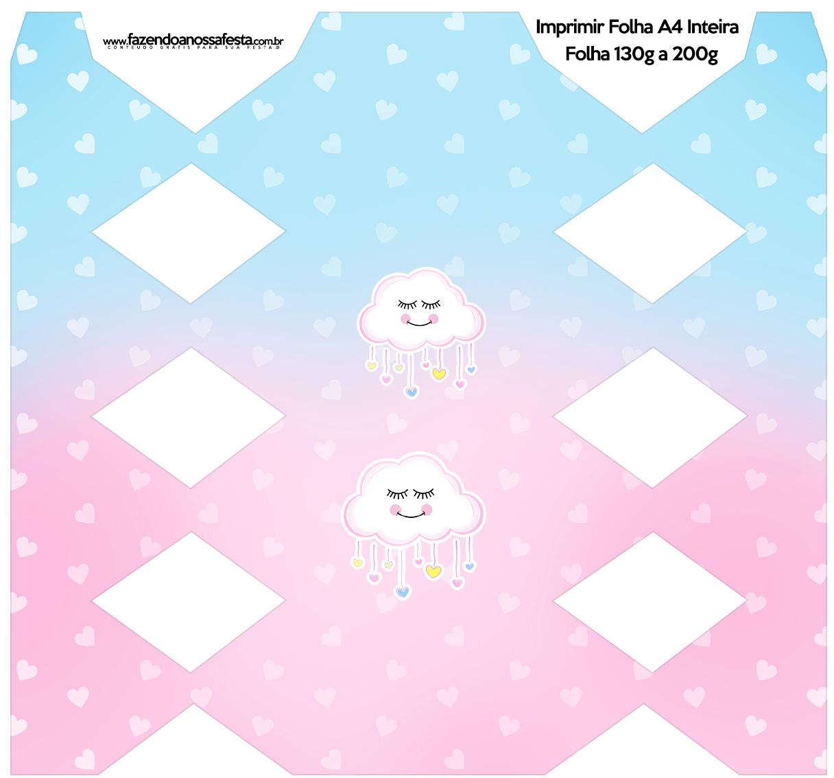 Festa Chuva de Amor kit festa para imprimir