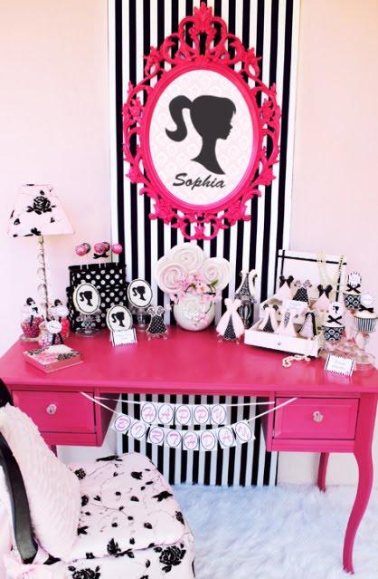 Festa da Barbie pequena