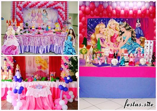 Festa da Barbie Princesa modelos