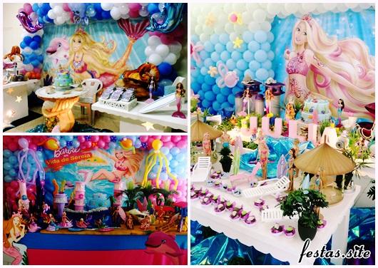 Festa da Barbie modelos para festa