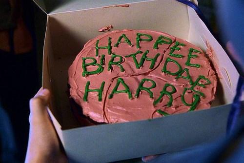 Festa Harry Potter modelo de bolo Hagrid