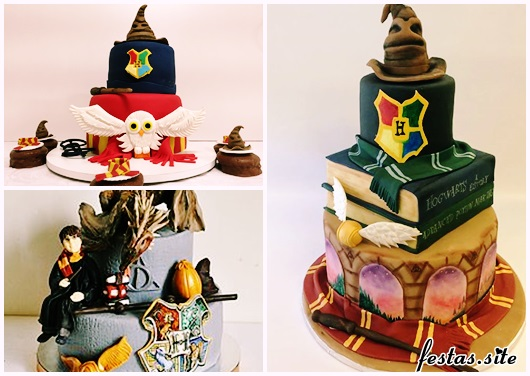 Festa Harry Potter modelos de bolo