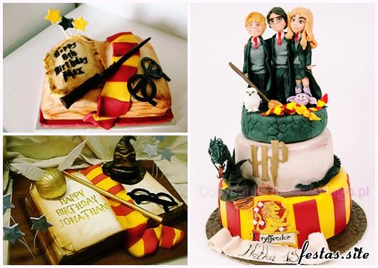 Festa Harry Potter modelos de bolo decorado