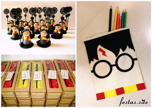 Festa Harry Potter modelos de lembrancinha