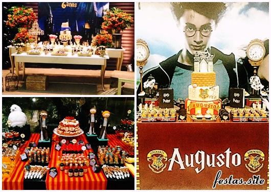 Festa Harry Potter modelos de decoração