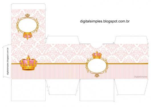 Festa Princesa kit festa para imprimir