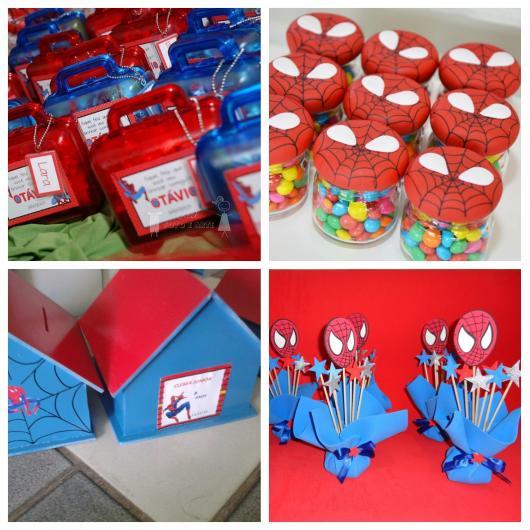 lembrancinhas do Homem-Aranha