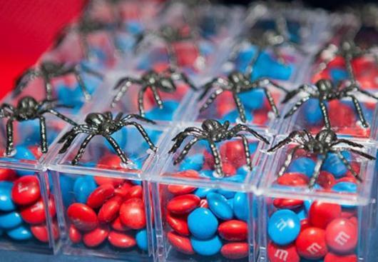 lembrancinhas do Homem-Aranha simples