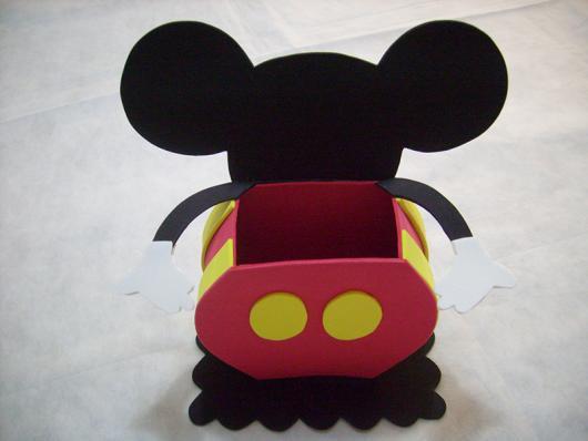 Lembrancinhas do Mickey baleiro de EVA