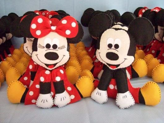 Lembrancinhas do Mickey boneco do Mickey de feltro