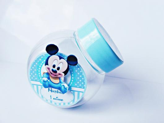 Lembrancinhas do Mickey baby baleiro personalizado