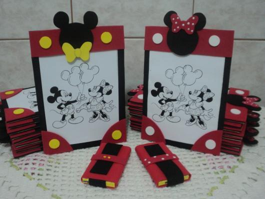 Lembrancinhas do Mickey e Minnie kit para pintar