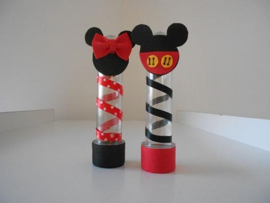 Lembrancinhas do Mickey tubete peronalizado