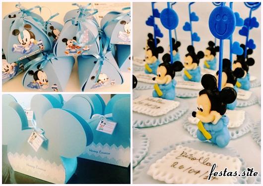 Lembrancinhas do Mickey baby modelos