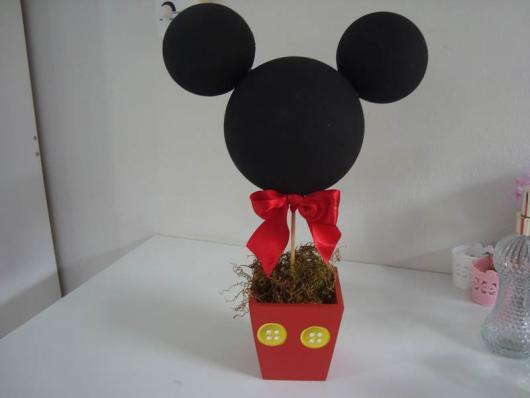 Lembrancinhas do Mickey vasinho personalizado