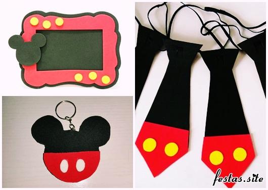 Lembrancinhas do Mickey modelos de EVA