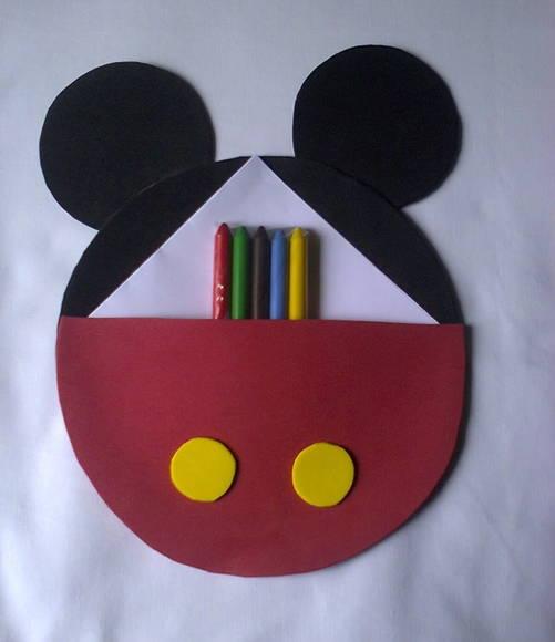 Lembrancinhas do Mickey kit de pintar