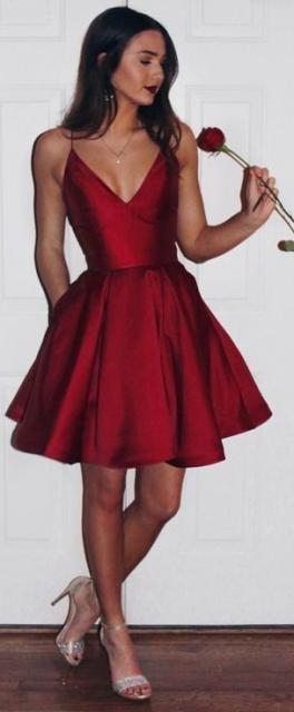 1f7b2a5785 Vestido de Formatura Curto – 85 Modelos Lindos   Looks Apaixonantes!