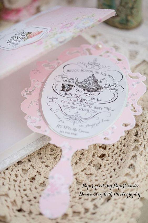 52 Convites Branca de Neve Apaixonantes para Editar ...
