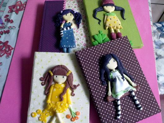 capa decorada boneca