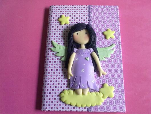 ideia para customizar caderno