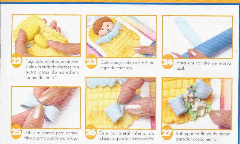 DIY bebê de biscuit