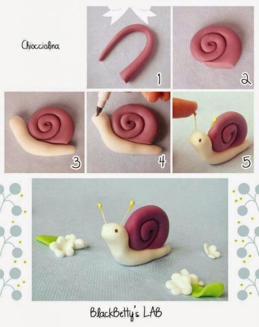 bichinho de biscuit como fazer