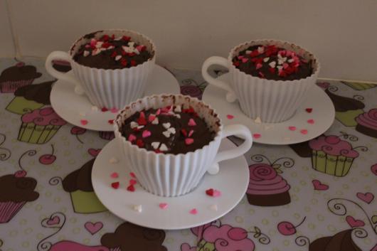 cupcake de microondas de caneca