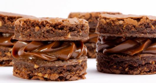 Como fazer Bem Casado de Brownie