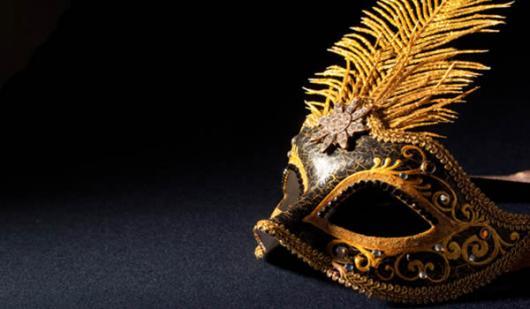 Como Fazer Máscara de Carnaval Veneza Dourada