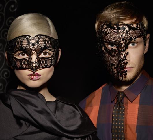 Como Fazer Máscara de Carnaval Veneza de renda preta
