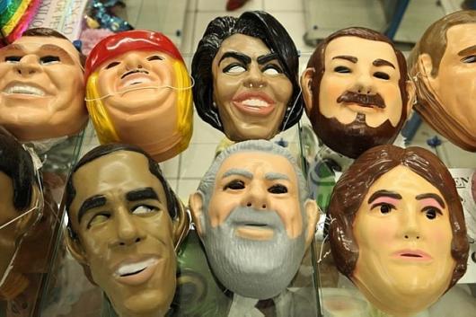 Como Fazer Máscara de Carnaval de Personalidades da Políticca