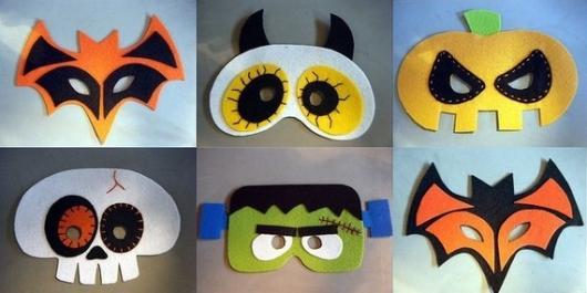 Como Fazer Máscara de Carnaval no estilo Halloween