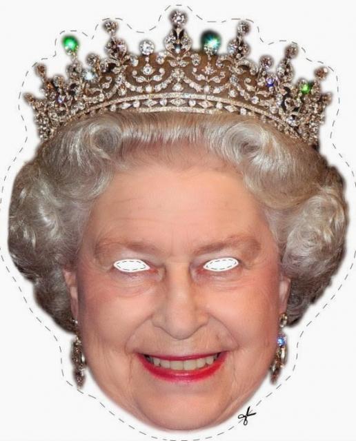 Como Fazer Máscara de Personagem Rainha da Inglaterra