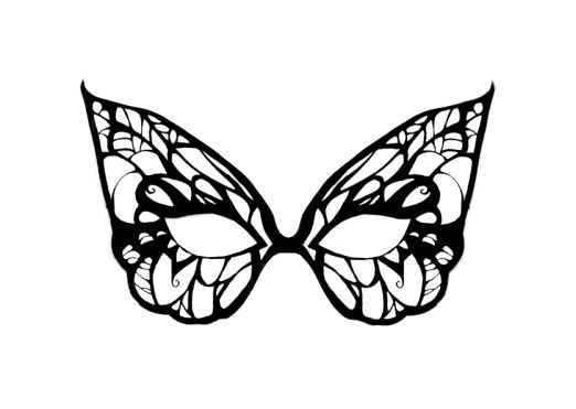 Moldes de Máscaras de Carnaval para Imprimir Grátis