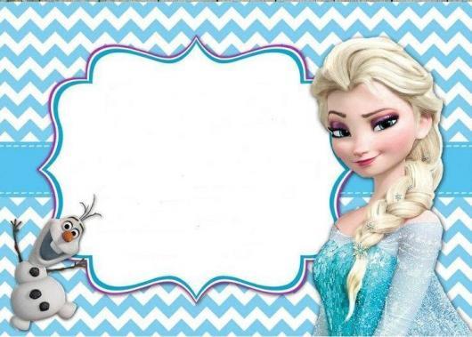 70 convites frozen encantadores para você imprimir fazer agora